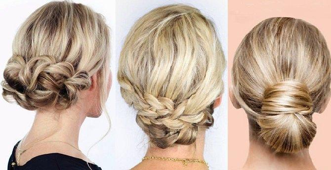 peinados con recogidos