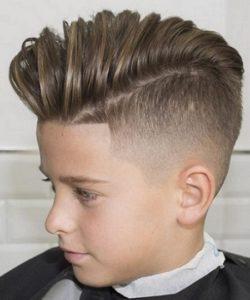 peinados de graduacion para niños