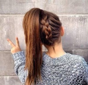 peinados de moda peli largo