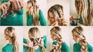 peinados nochevieja pelo largo