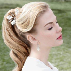 peinados de novia civil
