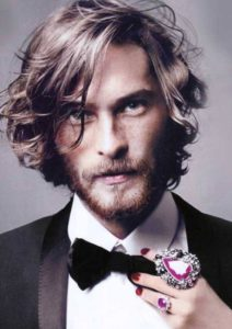 peinados hipster media melena hombres