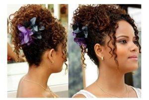 peinados melenas rizadas