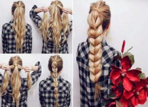 peinados moderno pelo largo