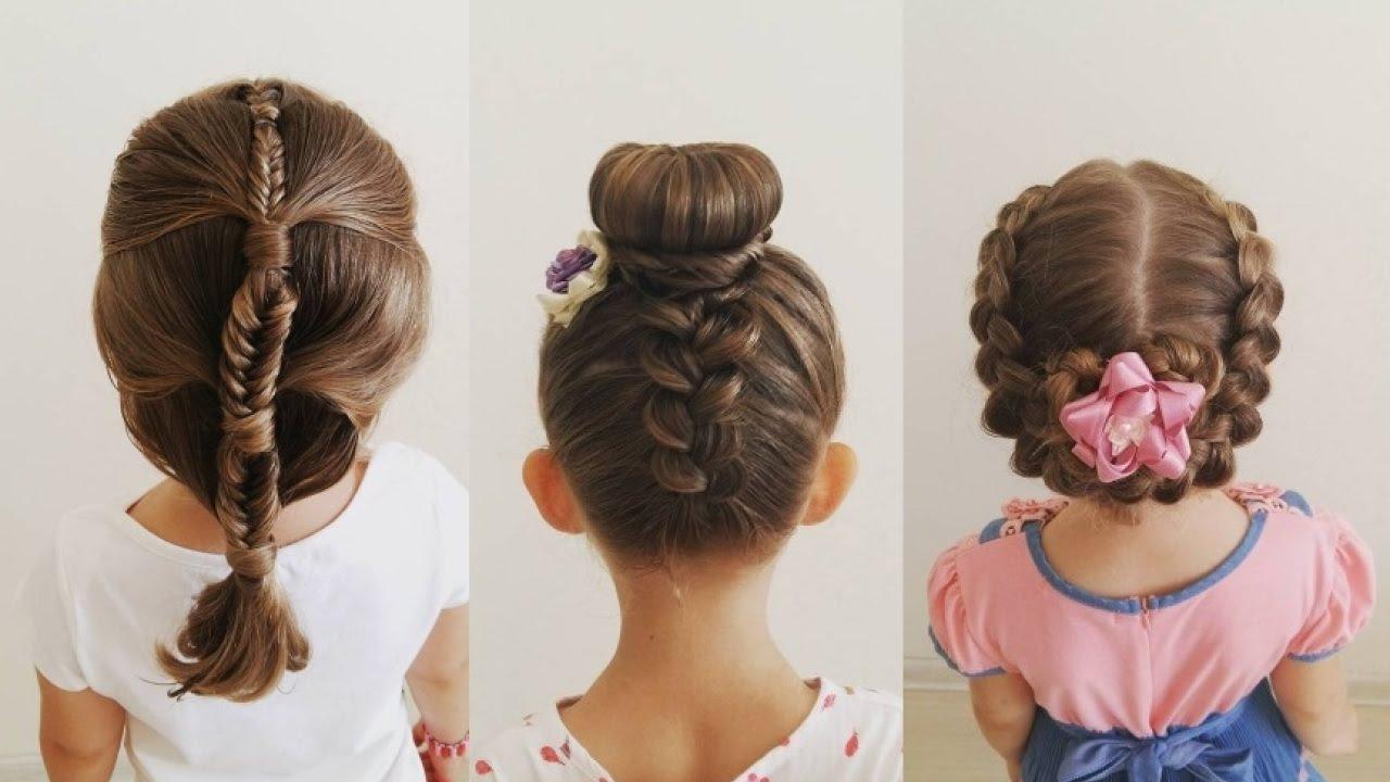 Peinados para ni as 2018 2019 fotos con estilo original - Peinados para nina ...