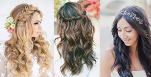 peinados para boda pelo suelto