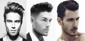 peinados para hombres años 50