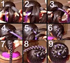 peinados para niñas con cintas