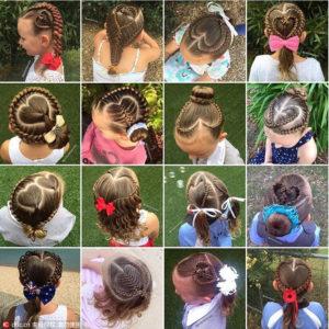 peinados para niñas fotos