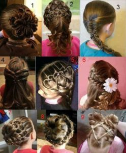 peinados para niñas sencillos