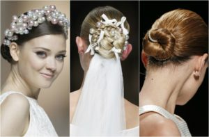 peinados para novias con recogidos