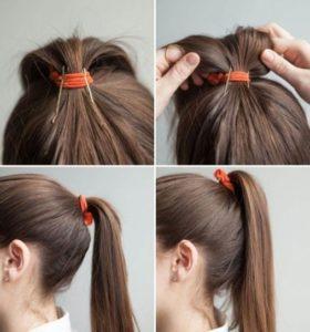 peinados pelo largo con coletas