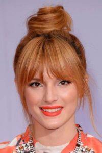 peinados para rostros redondos