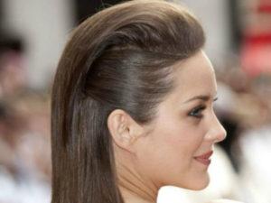peinados pelo suelto con tupe