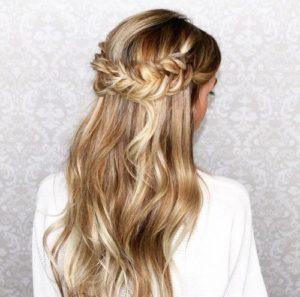 peinados pelo suelto largo