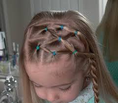 peinados pelo suelto para niñas