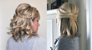 peinados recogidos sencillo pelo corto