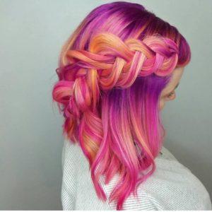 peinados tumblr media melena