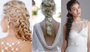 peinados para novia griegos
