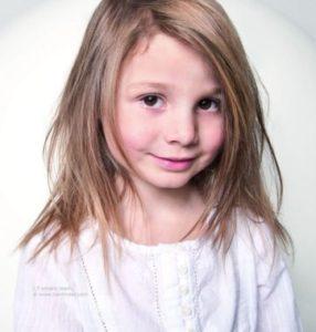 cortes de pelo niñas en capas