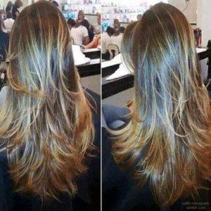 cortes de pelo a capas a paso a paso