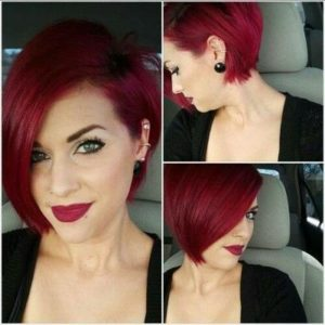 cortes de pelo corto con colores 2018