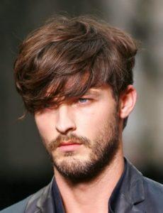 cortes de pelo flequillo hombres