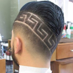 cortes de pelo hombres con rayas