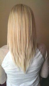 cortes de pelo largo en v