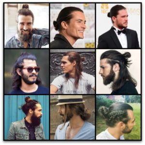 cortes de pelo media melena peinados hombres