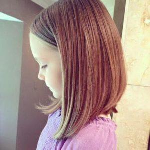 cortes de pelo media melena niñas