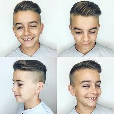 cortes de pelo moderno para niños 2018