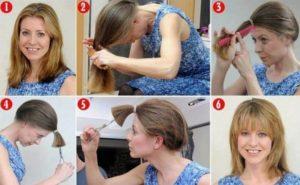 cortes de pelo mujer en casa