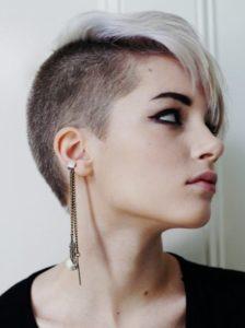 cortes de pelo mujer pelo corto rockero