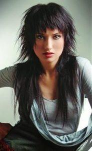 cortes de pelo mujer pelo largo capas cortas