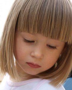 cortes de pelo niñas media melena 2018