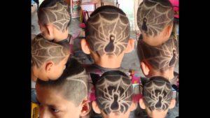 cortes de pelo divertidos para niños