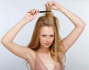 como cardar el cabello