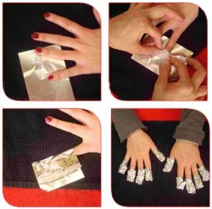 como quitar las uñas permanentes