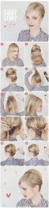 recogidos sencillos pelo corto