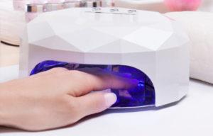secador de uñas de gel