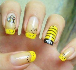 uñas decoradas con panda