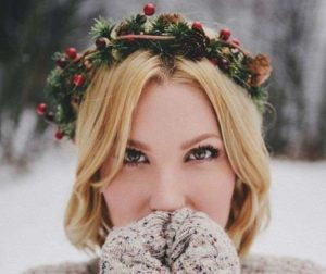 Algunos lindos peinados que puedes usar en navidad