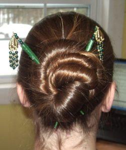Algunos peinados chinos