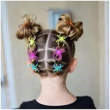 Arañas en el cabello