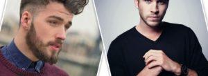 Peinados con barba