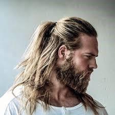 Cabello largo vikingos