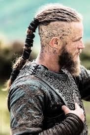 Cabello rapado de los vikingos