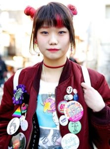Cabello teñido en Japón