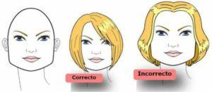 El peinado de rostro cuadrado